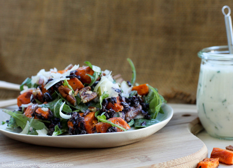 Sweet Potato, Pear, and Wild Rice Salad