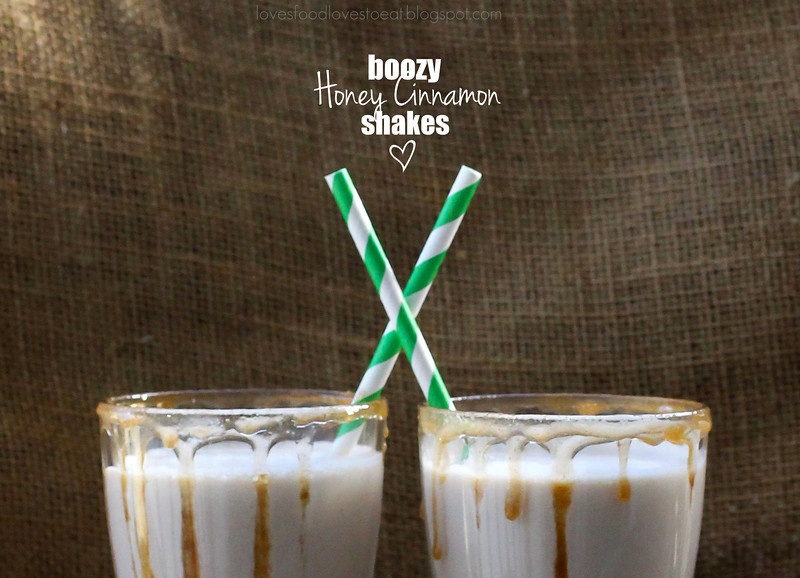 Boozy Honey Cinnamon Shakes // Loves Food, Loves to Eat