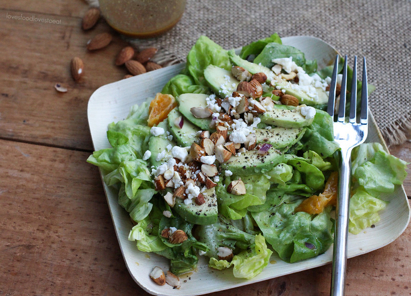 Avocado & Orange Salad with Sesame Soy Dressing // Loves Food, Loves to Eat