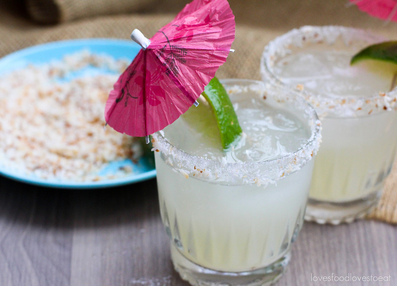 Coconut Margaritas// Loves Food, Loves to Eat
