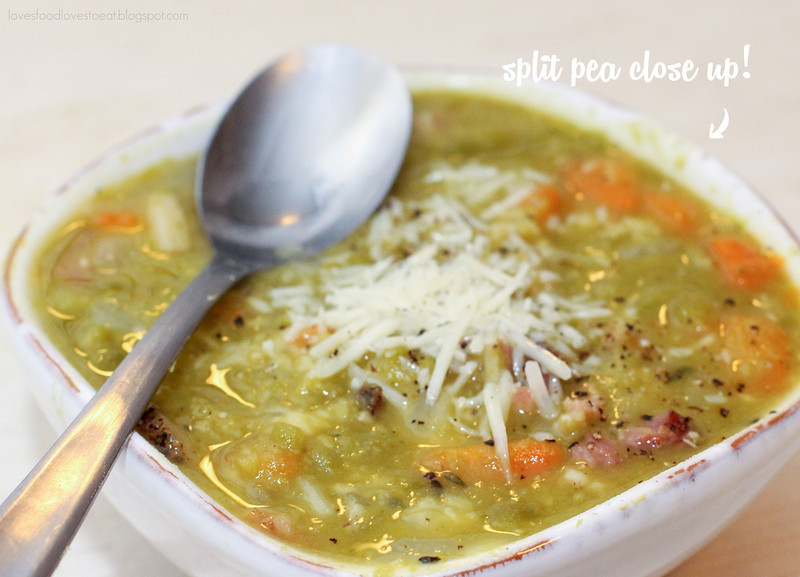 Split Pea Soup // Loves Food, Loves to Eat