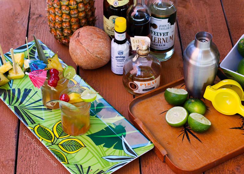 Tiki Party: Three Dots and a Dash Tiki Drink // Loves Food, Loves to Eat #lovestotiki